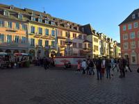 Brunnen in Trier auf dem Marktplatz
