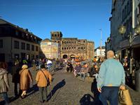Das Nordtor die Porta Nigra in Trier