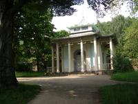 Der chinesische Pavillon in Pillnitz