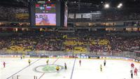 Spiel 1 Schweden-Russland Köln Lanxess Arena #heimwm