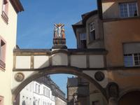 Zugang zum Dombezirk in Trier