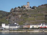 Kaub am Rhein mit Burg Gutenfels