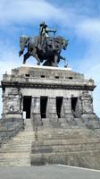 stolz sitz Kaiser Wilhelm auf seinem Pferd
