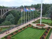 Europäischer Garten in Luxemburg