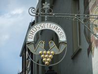 In der Drosselgasse in Rüdesheim