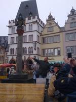 Marktplatz Trier - Herr Beck