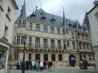 Der Großherzogliche Palast in Luxemburg