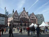 Das alte Rathaus in Frankfurt am Main