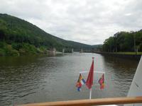 Schifffahrt auf Neckar