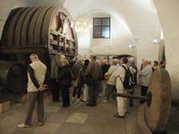 Im Weinkeller des Schlosses