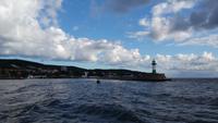 Hafeneinfahrt von Sassnitz