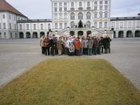 Unsere Silvesterreisegruppe vor Schloss Nymphenburg