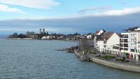 Blick über die Seepromenade Friedrichshafen