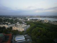 Blick vom Hotel auf die Stadt