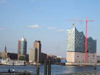 Hamburg, Blick auf die Elbphilharmonie