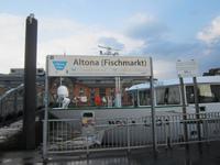 Hamburg, Besuch des Fischmarktes