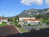 Blick aus dem Hotel in Inzell