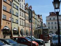 Auf dem Markt in Hirschberg