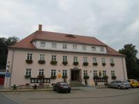Jonsdorf, Spaziergang mit dem Schäfer Jonas, Gemeindeamt
