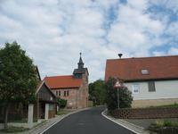 Birx- Straßenzug mit Kirche