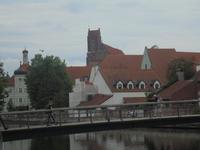 Blick auf die Landshuter Altstadt