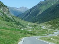 Hinunter fahren wir die Silvretta-Hochalpenstraße ins Paznaun