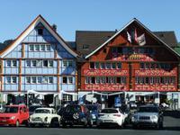 Schmucke Häuser in Appenzell