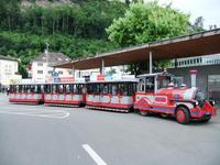 Das Touristenbähnle in Vaduz