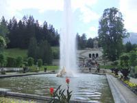 In der Parkanlage des Schlosses