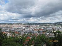 Der Blick über Stuttgart