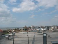 Ausblick vom Dach des Klimahauses