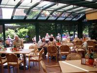 Kaffee im Wintergarten