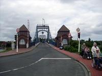 Die Kaiserbrücke in Bremerhaven