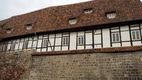 Quedlingburg , auf dem Weg zum Schlossberg