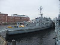 Das Freigelände des Marinemuseums