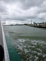 Horumersiel, Wattschiffahrt zum Jade-Weser-Port