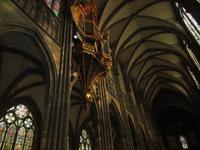 Straßburg mit Kathedrale innen