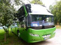 unser Reisebus ...