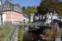 In Monschau.