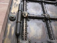 Details der Tür.