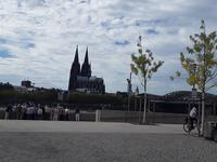 Blick auf den Kölner Dom.