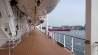 AN Bord der MSC SINFONIA