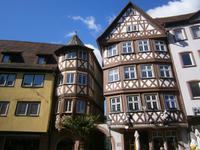 Fachwerkbauten in Wertheim