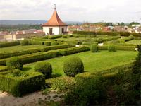 Der Renaissancegarten im Schloß Neufra