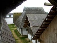 Bebauung auf der keltischen Heuneburg
