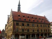 Das Ulmer Rathaus iost eines der schönsten in Deutschland.