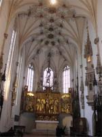 In der Abtei Blaubeuren