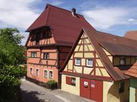 Pfründnerhaus von 1411 in Wolframs Eschenbach
