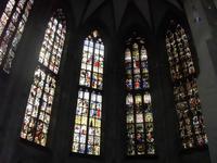 Ulmer Münster. Glasfenster 14/15. Jh.