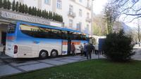 Unser 5-Sterne Eberhardt Bus in Bad Reichenhall